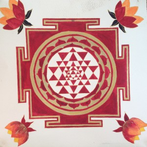 Sri Yantra by Johanna Kwiat