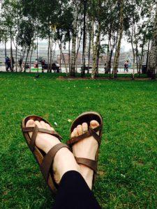 surya kriya warm feet