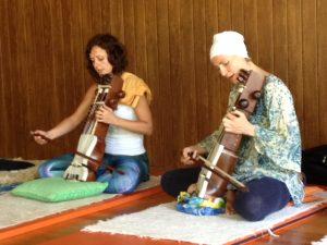 Naad yoga Raj Academy residential week