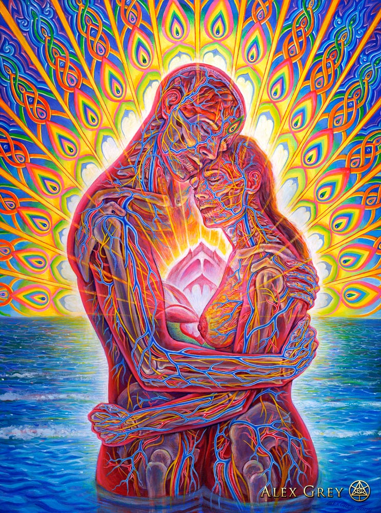 Alex Grey Ocean of love bliss