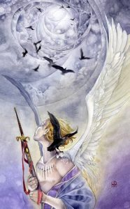 Nine of Swords: Stephanie Pui-Mun Law's Shadowscapes Tarot