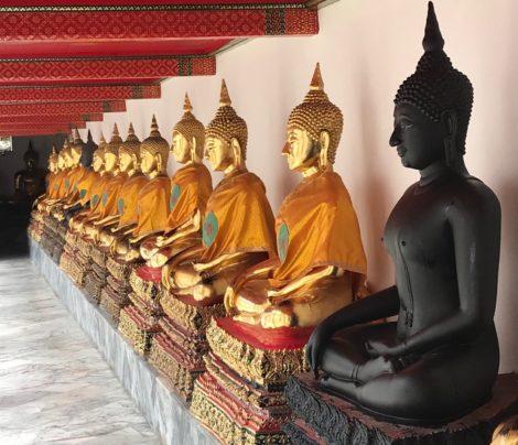 fallen gurus buddha
