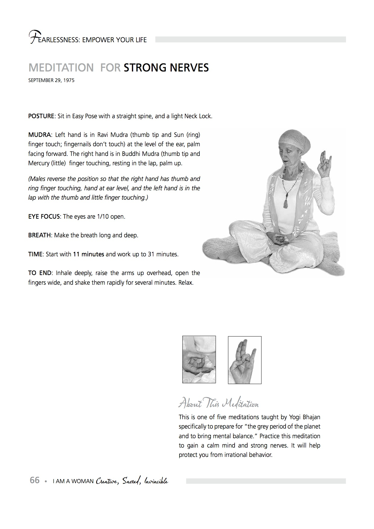 Meditation For A Strong Mind And Calm Nerves