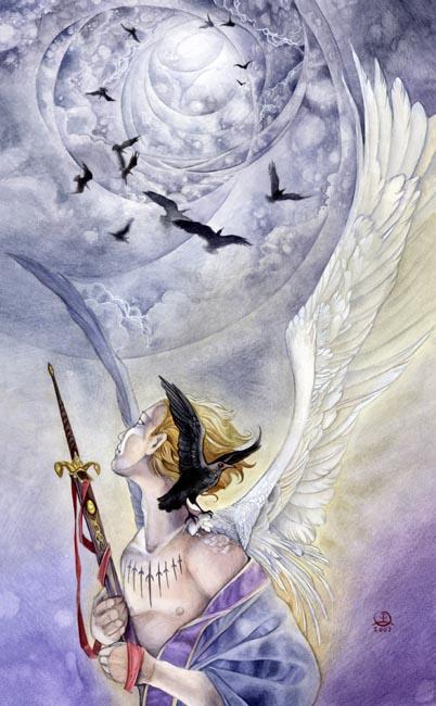 Nine of Swords: Stephanie Pui-Mun Law's Shadowscapes Tarot