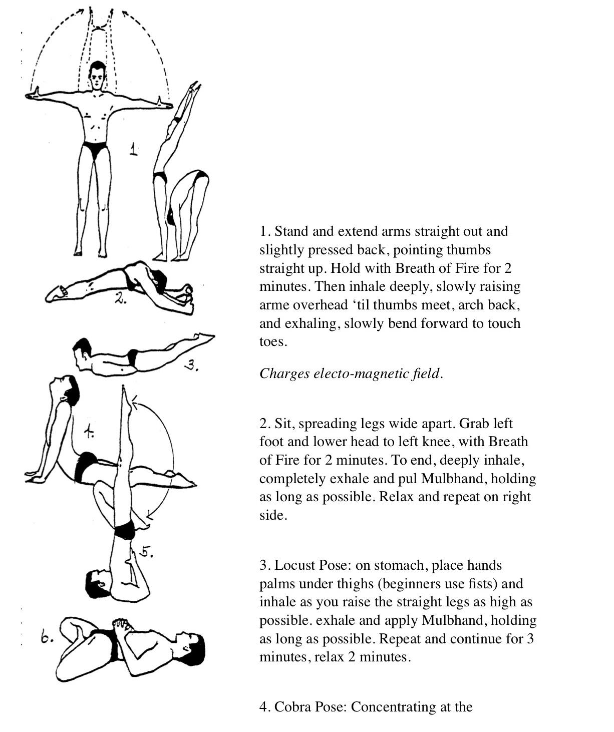 Kundalini Yoga 15 minute morning set